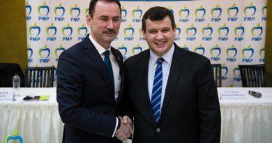 """""""PMP are cea mai bună listă pentru europarlamentare, Traian Băsescu are cea mai mare experienţă """" transmite Marian Andronache, președintele PMP Suceava"""