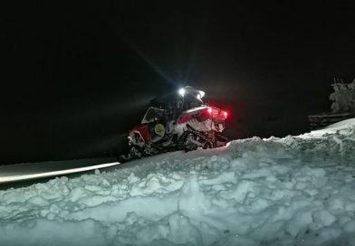 Turişti blocaţi în pasul Vamanu – munţii Călimani. Intervenţie Salvamont Vatra Dornei.