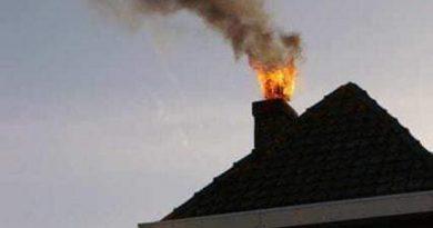 8 incendii  în ultimele 24 de ore în județ. 6 dintre acestea au pornit de la coșurile de fum. O stână din Vornicenii Mari a fost incendiată
