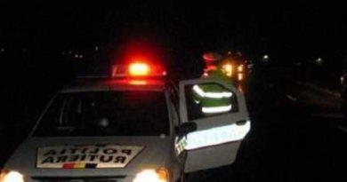Un fălticenean băut la volan a lovit cu mașina autospeciala poliției plecată în urmărirea lui, la Mălini