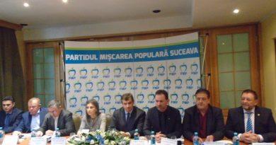 PMP, între pregătirea alegerilor locale, proiecte politice și presiunea anticipatelor. Întâlnire la nivel înalt a liderilor PMP, sâmbătă, la Gura Humorului