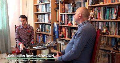 """Sebastian Remus Crăciun, tânărul care învinge în toate bătăliile  la  """"Povestea Vorbei"""" – Televiziunea Intermedia Suceava"""