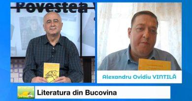 """Literatura din Bucovina, cu Alexandru Ovidiu Vintilă, președintele SSB, redactor șef al revistei """"Bucovina Literară"""", la """"Povestea Vorbei"""" – Televiziunea Intermedia Suceava"""
