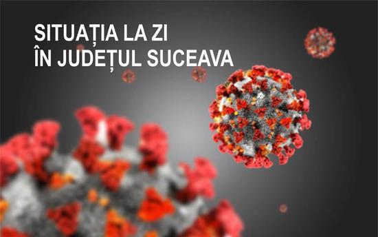 7 cazuri de covid active în Suceava, 4 cazuri în Rădăuți, 34 de cazuri în evoluție în județ