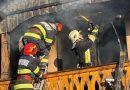 Gospodărie mistuită de flăcări la Ilișești. În incendiu au pierit și 300 de prepelițe. Proprietara a suferit un atac de panică
