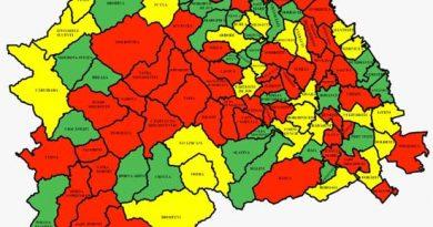 Suceava, 18 octombrie: 116 cazuri noi la 597 persoane testate, 16 suceveni răpuși de covid în ultimele 24 de ore. Situația pe localități